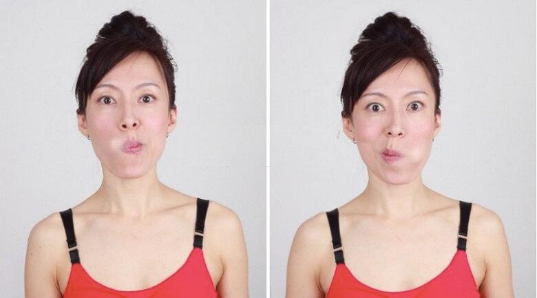 Di chuyển khí trong khoang miệng giúp mũi cao lên một cách rõ rệt.