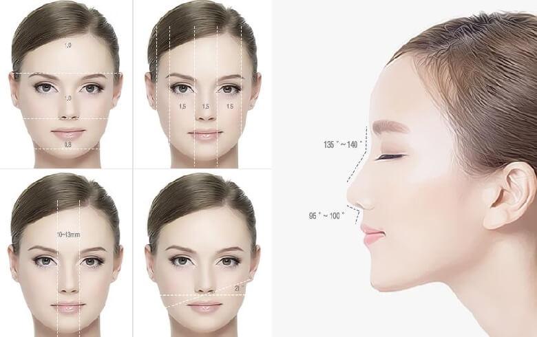 Nhiều người bị mũi vẹo bẩm sinh nên không có gương mặt hài hòa