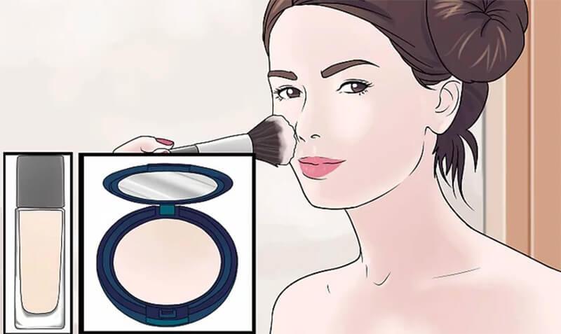 Trang điểm tạo khối thích hợp cho mũi